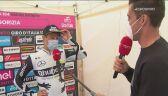 Victor Campenaerts po 15. etapie Giro d'Italia