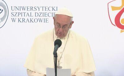 Papież do lekarzy, pielęgniarek, wolontariuszy: wspieram was