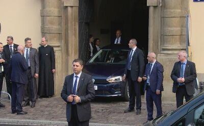 Papież Franciszek jedzie do Oświęcimia samochodem