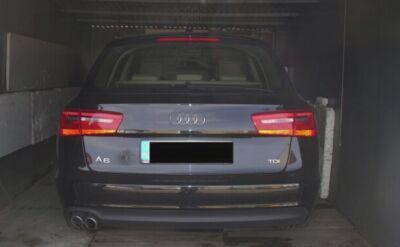 Zgłosił kradzież, auto ukrył w garażu