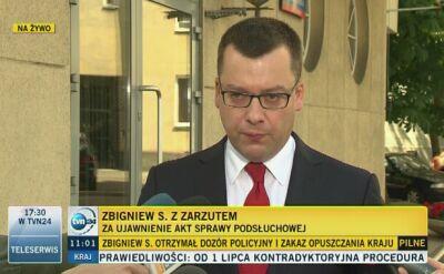 Prokuratura o wycieku akt. Zbigniew S. nie przyznał się do winy