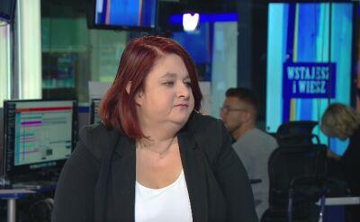 """Anna Godzwon była gościem we """"Wstajesz i wiesz"""" w TVN24"""