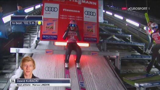 Dawid Kubacki wygrał kwalifikacje w Predazzo