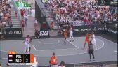 Problemy Polaków na początku meczu z Holandią w ME koszykarzy 3x3