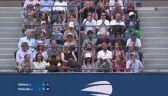 Piłka setowa dla Miedwiediewa w finale US Open przeciw Djokoviciowi