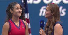 Emma Raducanu po finale US Open
