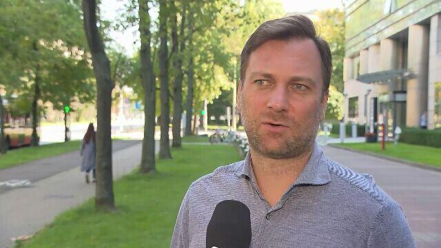 Jakub Kwiatkowski o przepychance w trakcie meczu Polska - Anglia