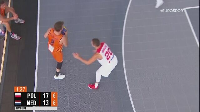 Polska wygrała z Holandią w ćwierćfinale ME w koszykówce 3x3