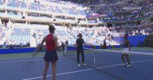 Skrót meczu Switolina - Fernandez w ćwierćfinale US Open