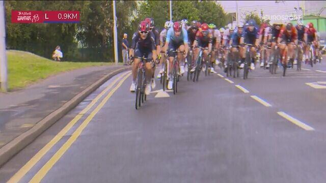 Ethan Hayter wygrał 5. etap Tour of Britain. Kraksa na finiszu