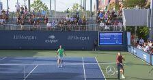 Szokujące zagranie w meczu Daniell/Demoliner - Evans/Glasspool na US Open