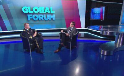 Generał Hodges: Polska stała się środkiem ciężkości dla amerykańskiej armii w Europie. Cała rozmowa