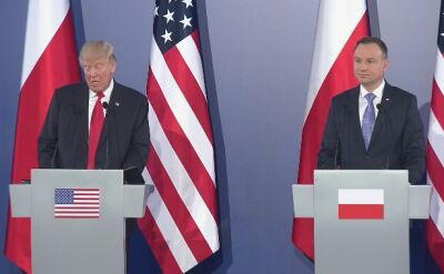 Trump o gotowości USA do zapewnienia bezpieczeństwa i o NATO