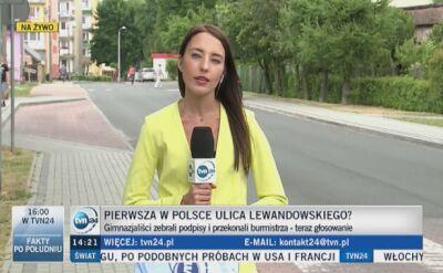 """""""Lewandowski jest idolem młodzieży w całej Polsce"""""""