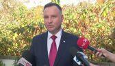 Prezydent Andrzej Duda podziękował wszystkim, którzy oddali głos w wyborach