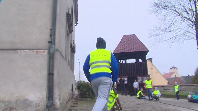 Wyścig klekotów w Bukówcu Górnym