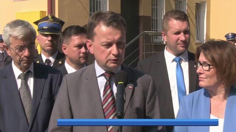 Mariusz Błaszczak o przestępstwach na tle ksenofobicznym