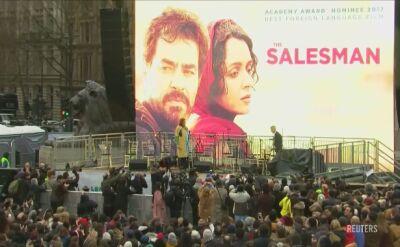 """Tłumy w Londynie na premierze """"Klienta"""""""