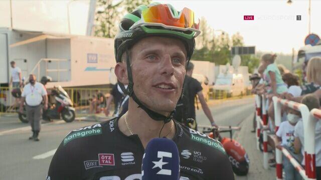 Rafał Majka po 4. etapie Tour de Pologne