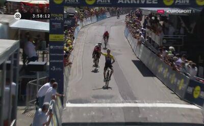 Primoz Roglić bezkonkurencyjny na 2. etapie Tour de l'Ain