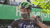 Rafał Majka o wypadku Jakobsena na 1. etapie Tour de Pologne