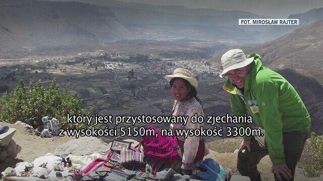 Specjalna relacja Marcina Gienieczko dla TVN 24
