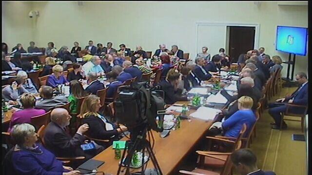 Całe nagranie z posiedzenia komisji zdrowia