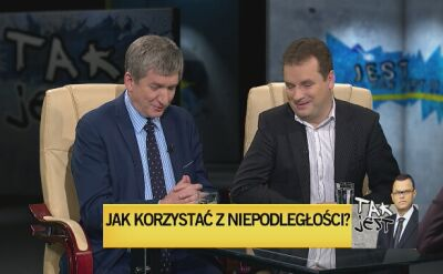 Jerzy Wenderlich i Jacek Wilk w Tak Jest