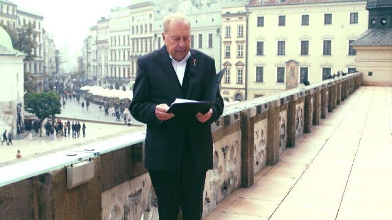 Życzenia dla Polski. Jerzy Stuhr czyta życzenia anonimowego czytelnika