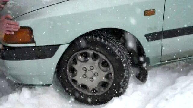 Powrót zimy w Sudetach