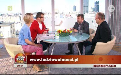 """""""Ludzie Wolności"""" w Dzień Dobry TVN"""