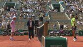 Skrót ćwierćfinału Roland Garros Rafael Nadal - Diego Schwartzman