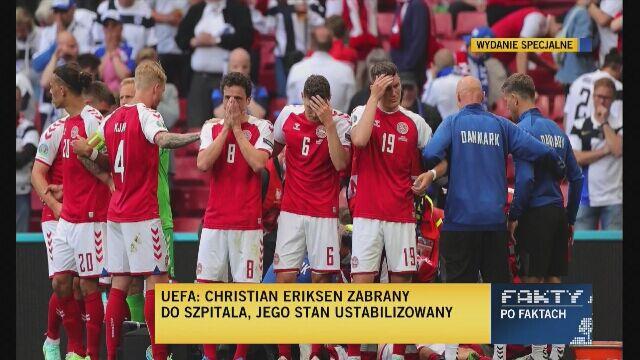 Co dalej z meczem Dania - Finlandia? Listkiewicz odpowiada