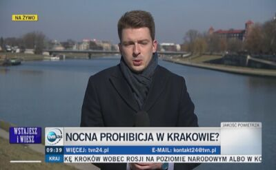 Nocna prohibicja w Krakowie?