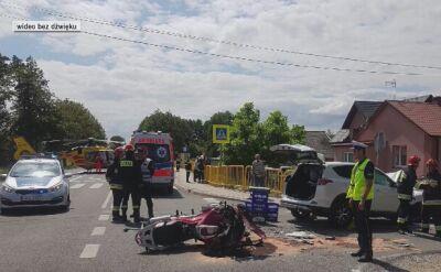 W wypadku motocyklowym zginął policjant