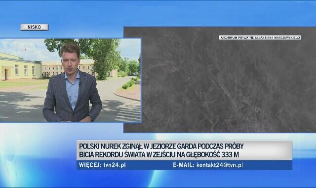 7cebbf540b2e43 Śmierć Sebastiana Marczewskiego - oglądaj wideo TVN24
