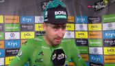 Sagan po wygraniu 5. etapu Tour de France