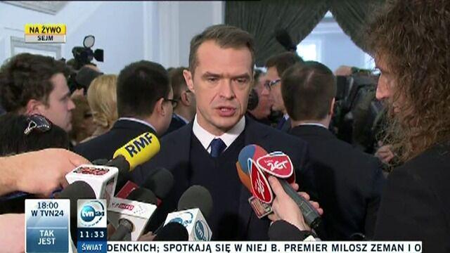 Minister Nowak o strajku kolejarzy