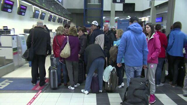 Bagaże są sortowane i poddane kontroli bezpieczeństwa