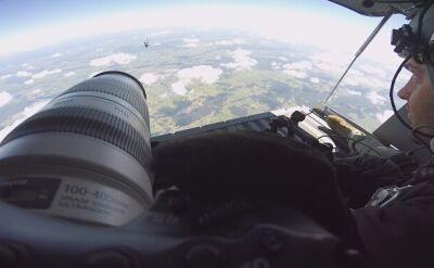 F-16 z punktu widzenia podniebnego fotografa