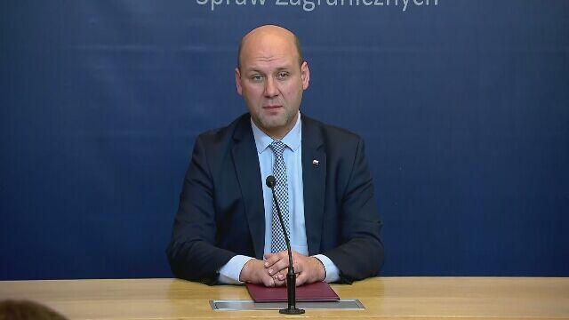 Wiceszef MSZ: oczekujemy na przeprosiny władz Izraela