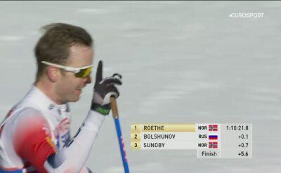 Roethe złotym medalistą w biegu łączonym