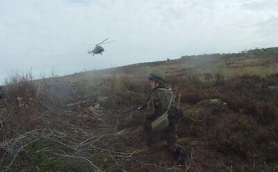 Rosyjskie ćwiczenia z udziałem Mi-8