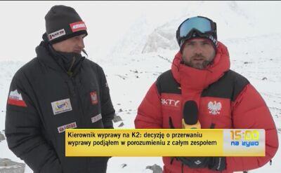 Adam Bielecki podsumowuje wyprawę na K2