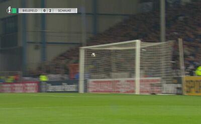 Drugi gol Schalke w meczu z Arminią