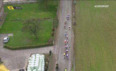 Fatalny wypadek mistrza świata na wyścigu dookoła Flandrii