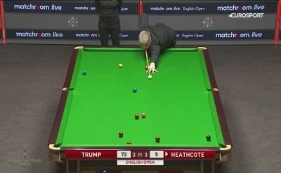 Judd Trump nie bez problemów w 2. rundzie English Open