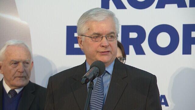 Cimoszewicz: wybory europejskie zdecydują o miejscu i roli naszego kraju w rodzinie europejskiej