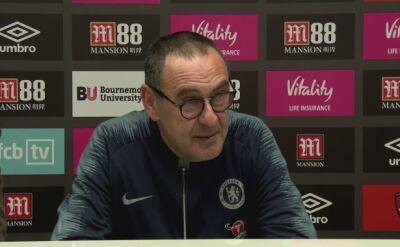 Maurizio Sarri skomentował wysoką porażkę Chelsea