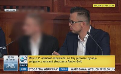 Marcin P. wymienił spółki, w których pełnił funkcję prezesa